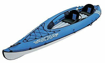 Bic Yakkair Lite 2 - Kayak hinchable, color azul, 4.10 m