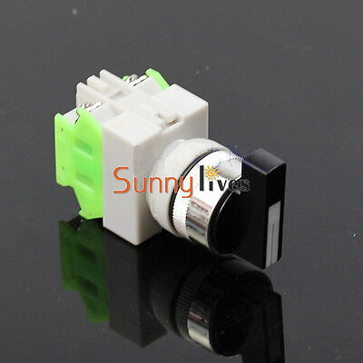 Rotary Three Position Selector Switch Power Ignition LAY7-20X/3