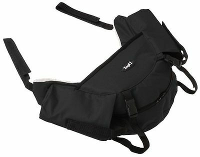 English Nylon Saddle Bag by Tough-1   Made to Suit English Saddles  Imp USA NEW