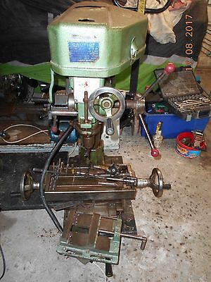 Mitchell Fox Milling Machine All Works Some Tooling As Per Pictures