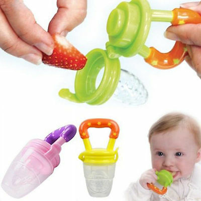 Hot Fresh Food Fruit Safe Pacifiers Nibbler Feeder Feeding Tool Baby Supplies