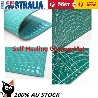 A1 Thick   Self Healing Craft Cutting Mat 2-Side Print Quilting Scrapbooking