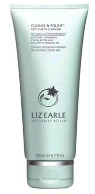 LIZ EARLE CLEANSE AND POLISH, HOT CLOTH CLEANSER, NEW STOCK NO CLOTH 200ml UK