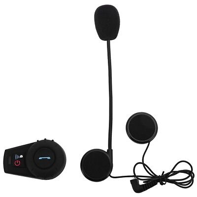 500M Motorcycle Helmet Bluetooth Intercom Kit for Motorcyclist and Skiers US