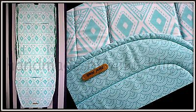 Custom reversible seat liner fit to GREENTOM classic NEW made to order 2-3 days