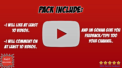 YOUTUBE PACK! (Things i will do)