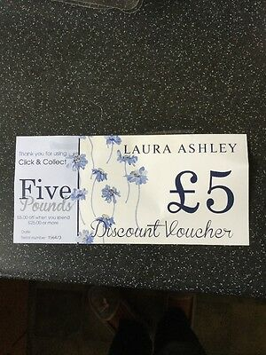 Laura Ashley £5 Off £25 Gift Voucher Instore Only