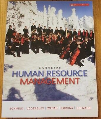 Canadian Human Resource Management 11th Canadian Edition without access code