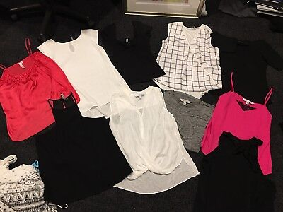 10 Ladies Size 10 Bulk Forever New tops some new