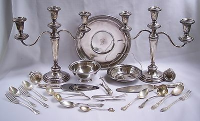 Sterling Silver Mixed Lot Scrap or Not  Approx. 8 lbs