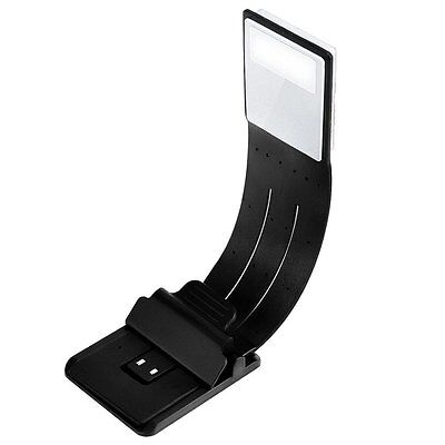 Hsctek Book Light Double as Bookmark-Clip on LED Reading Light-Flexible E-Reader