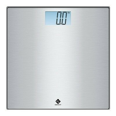 Etekcity Stainless Steel Digital Body Weight Bathroom Scale with Step-on Tech...