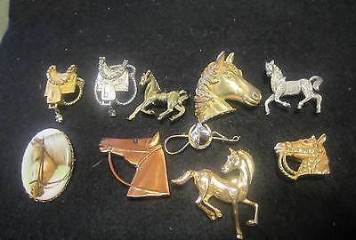 Horse Jewelry Lot