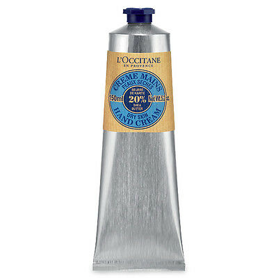 L'Occitane Shea Butter Hand Cream 150ml - Absorbed Rapidly for Soft Smooth Skin