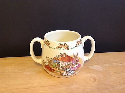 Royal Doulton Bunnykins double Handel Cup 6oz
