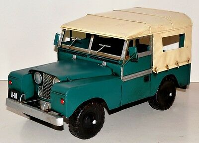Jeep Oldtimer Blechauto Blechmodell Tin Model Vintage Car ca. 36 cm 37458