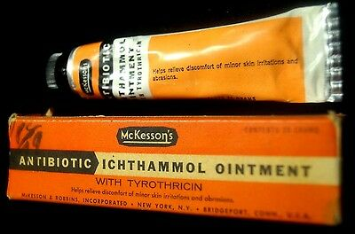 1930s McKesson's Medical Skin Care Ointment Advertising W/ Box NOS