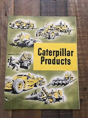Caterpillar Products Catalog Brochure