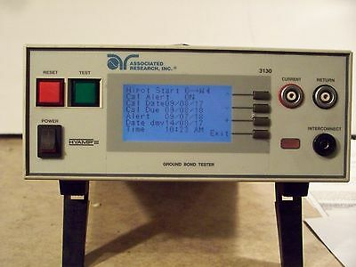 Associated Research 3130 Ground Bond Tester RECENT CALIBRATION