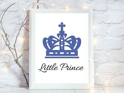 little prince a4 glossy poster Print  picture gift unframed quote nursery