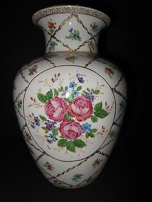 Vintage Porcelain Vase Dominies Collection Hand Painted Made In