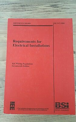 seventeen edition electrical regulations