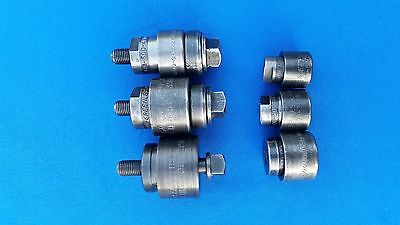 Lot of  6ea. Greenlee Knockout  Punches  Various Sizes