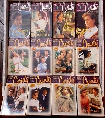 Lot Of 12 Complete Series Christy Paperback Books By Catherine Marshall