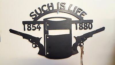 Ned Kelly Such Is Life Metal Wall Art Indoor Outdoor Wall Hanging Decoration