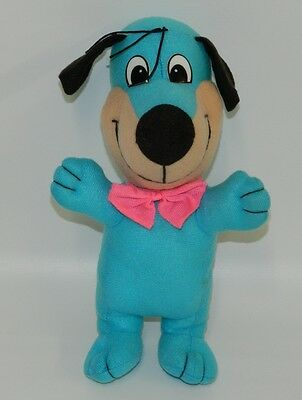 "Huckleberry Hound's Nephew? Grandson? 10"" Vintage Stuffed Plush Blue Puppy Dog"