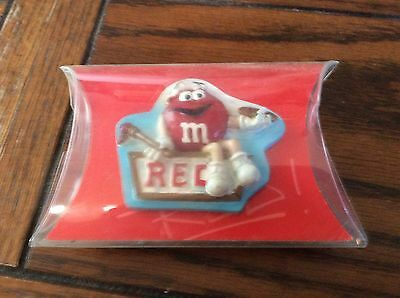 m&m red figurine fridge magnet new