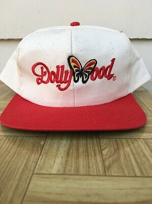 ca0e17a9 VINTAGE DOLLYWOOD SNAPBACK Trucker Hat Cap Rope 90s VTG Rare Dolly ...