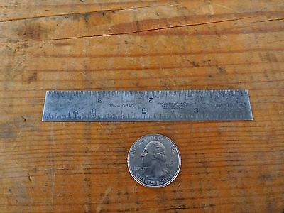 Lufkin 4'' No.4Grad Tempered Combination Square Blade Scale Rule American Made!