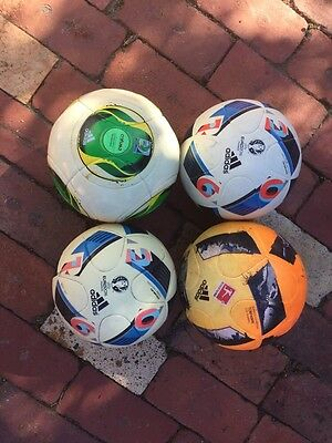 5 adidas Official Replica Soccer Balls (Used)