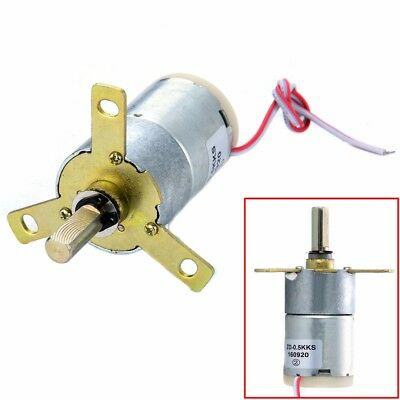 Electric Geared Motor Replacement High Torque 12V DC 25 RPM Gear-Box Stabilivolt