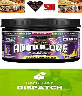 Aminocore  - Max Strength BCAAs - Pre Workout 105g