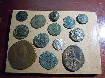 Nice Collection Of Ancient Coins Greek Roman Byzantine