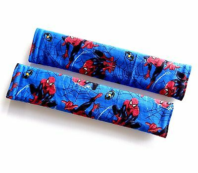 Adult Seat Belt Covers Strap padded use for Car Seat Belt - Spiderman