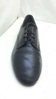 John March Men's Size 7Eee Black Leather  Ballroom Salsa Tango Dancing Shoes