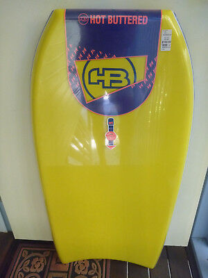 "New 40"" Hot Buttered Tech Stringer Bodyboard"