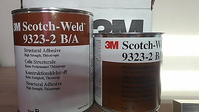 3M EC-9323-2 B/A Scotch-Weld Black Two Part Structural Adhesive