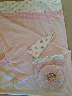 Mothercare Daisy Lane Curtains And Light Shade