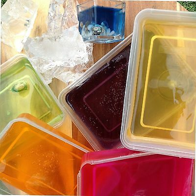 Gel candle making kit Jelly wax coloured scented, wicks ,instructions, beginners
