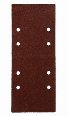 Abrasive sheet 115X280 Mm 8 Holes For The 250 gr.60 PZ10 Tools Manual