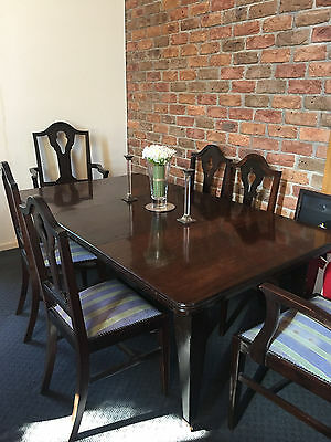 Table and Chairs-Antique