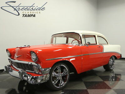 1956 Chevrolet 210  TOP NOTCH NUT & BOLT RESTO, LASER STRAIGHT, AWESOME SOUND SYSTEM, AIR RIDE, A++
