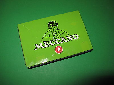 Meccano No 4 small parts tin in excellent condition.  1960S?