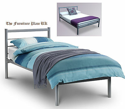 ALPEN Aluminium Metal Bed Frame In Single Small Double or Double