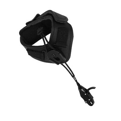 Archery Comound Bow Release Aids Adjustable Wrist Strap Trigger Hunting