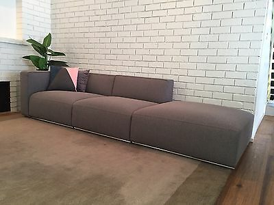 Poliform Designer Couch with Chase (new) Ex Display
